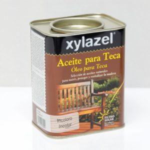 Xylacel aceite de teca incoloro 0,750ml