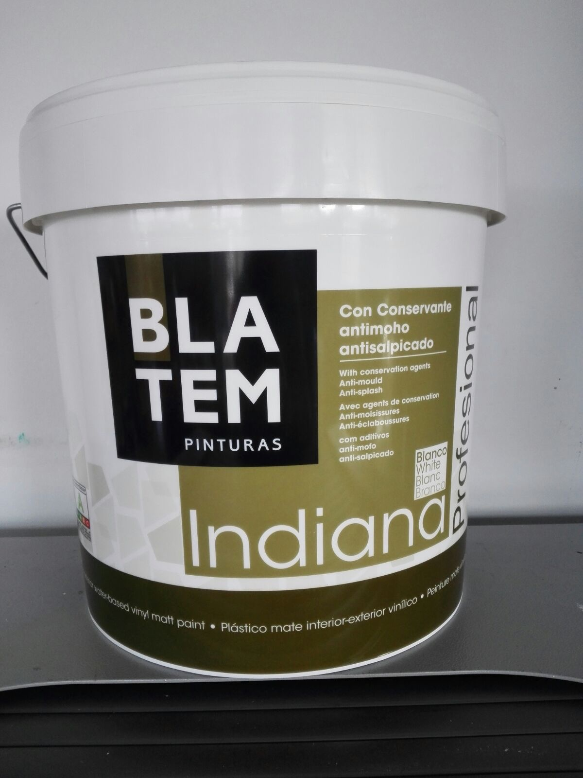 Cepisa bemcor mate vinilico indiana antimoho - Limpiar pintura plastica ...